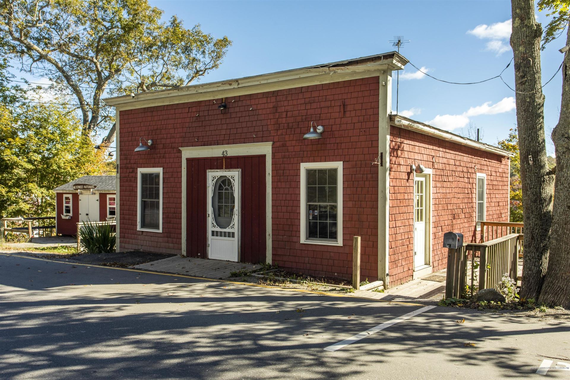 Photo of 43 Oak Street, Boothbay Harbor, ME 04538 (MLS # 1443319)