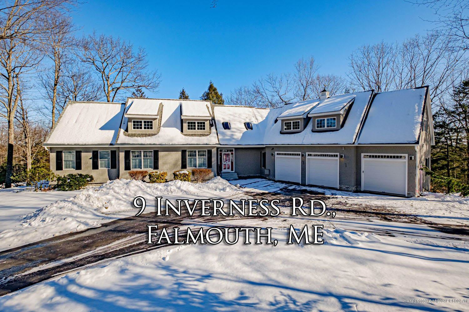 Photo of 9 Inverness Road, Falmouth, ME 04105 (MLS # 1442332)