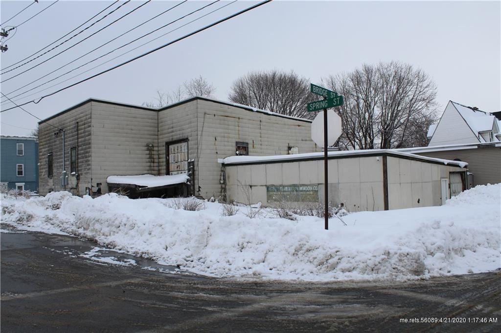 Photo of 25 Bridge Street, Lewiston, ME 04240 (MLS # 1448391)