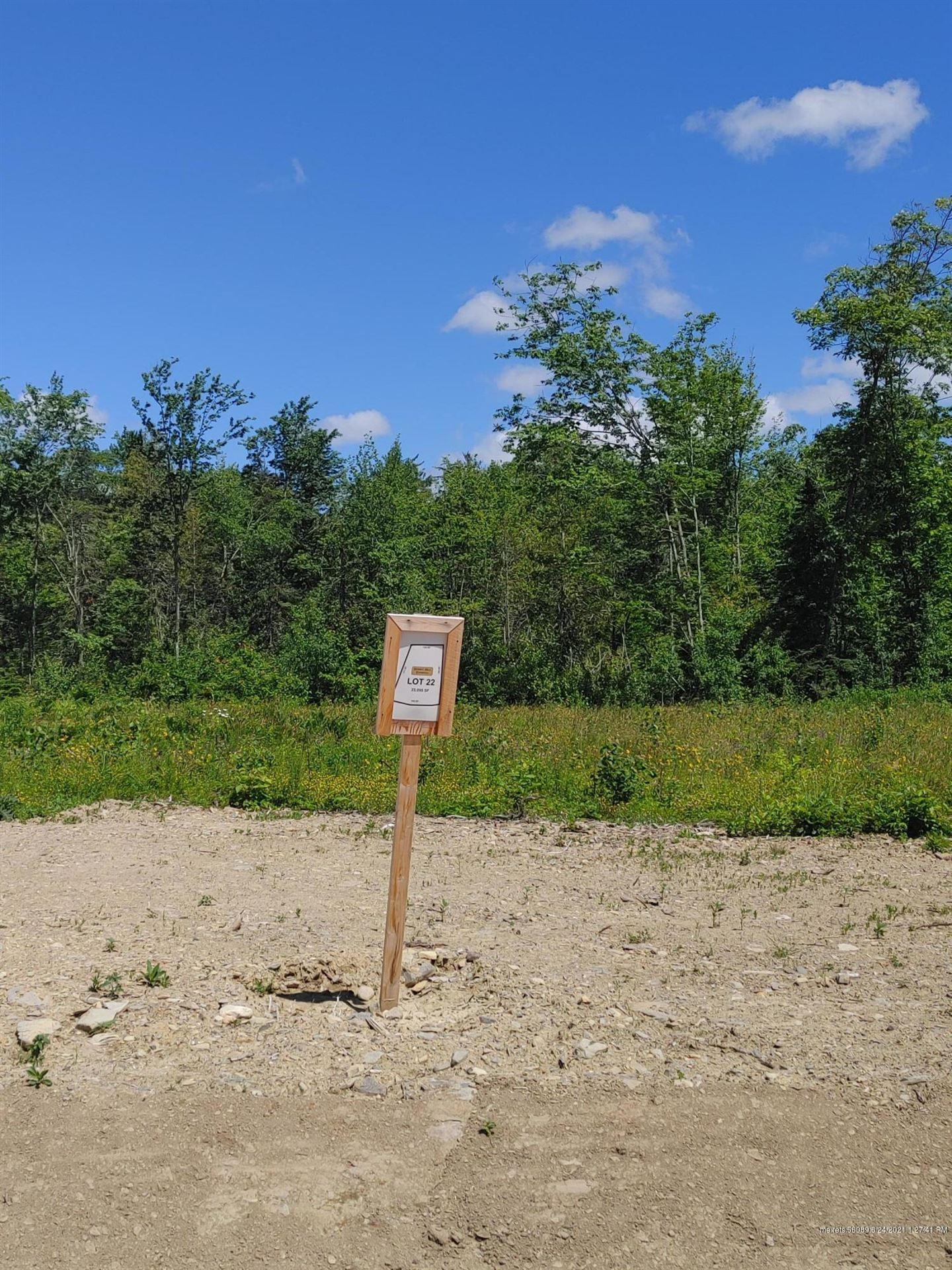 Photo of Lot 22 Rt 1A (Honey Hill Estates), Hampden, ME 04444 (MLS # 1480424)
