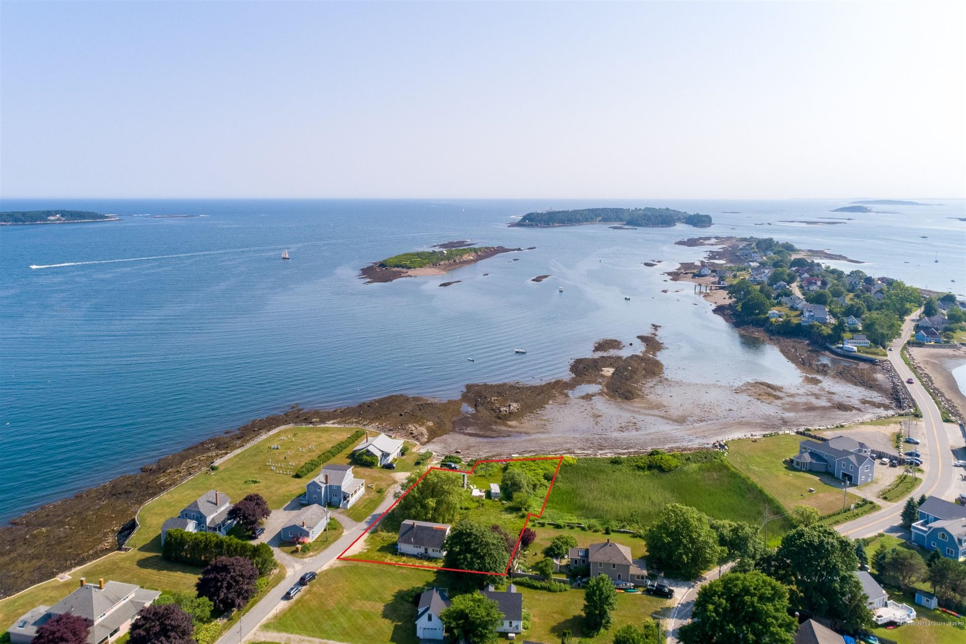 Photo of 20 Graveyard Point Road, Harpswell, ME 04079 (MLS # 1512436)