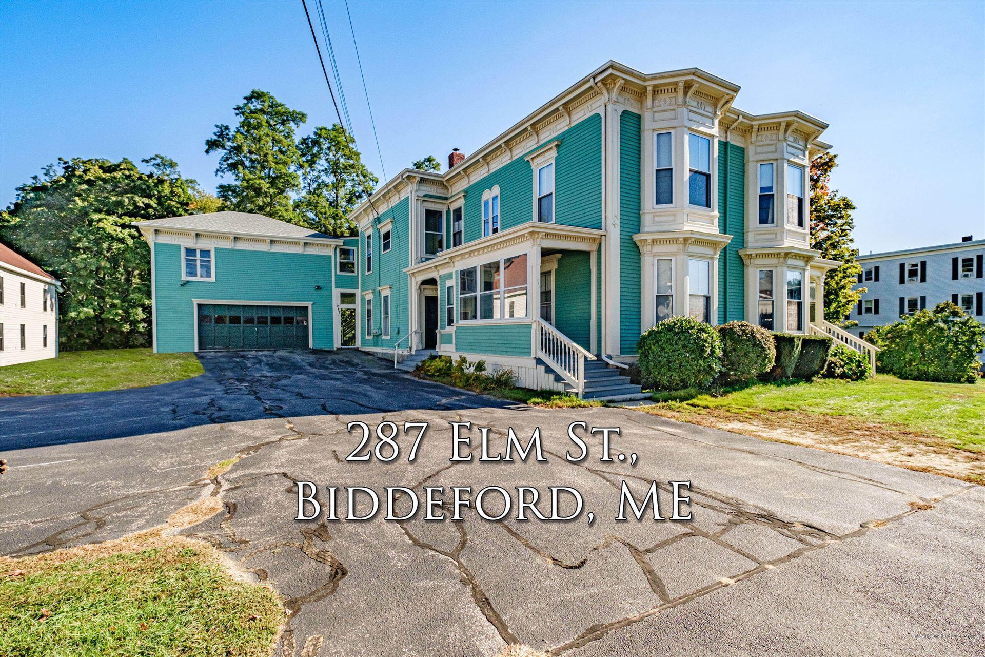 Photo of 287 Elm Street, Biddeford, ME 04005 (MLS # 1512441)