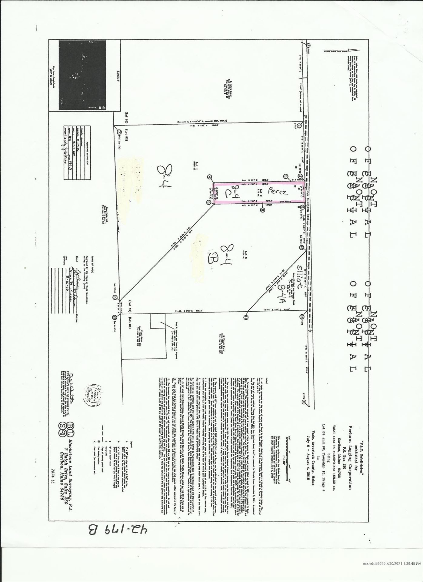 Photo of M8L4C New Dunntown Road, Wade, ME 04786 (MLS # 1484442)