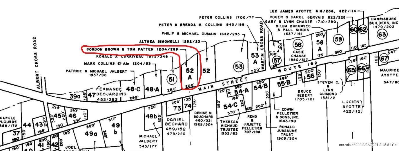 Photo of Map3Lt52A Main Street, Saint Agatha, ME 04772 (MLS # 1503456)