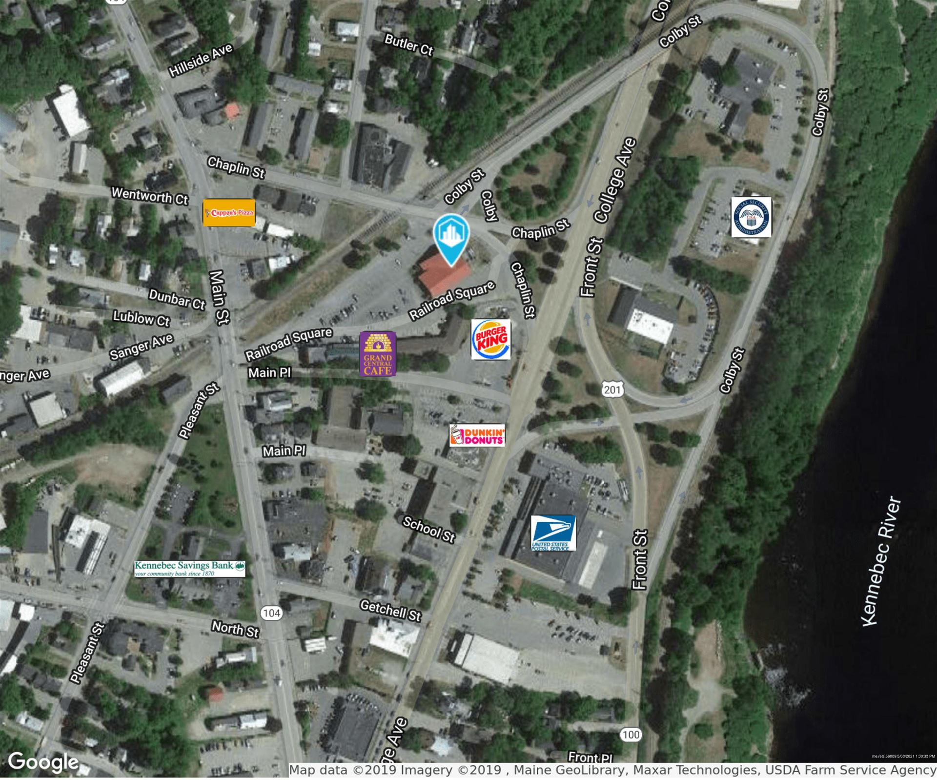 Photo of 17 Railroad Square, Waterville, ME 04901 (MLS # 1490478)