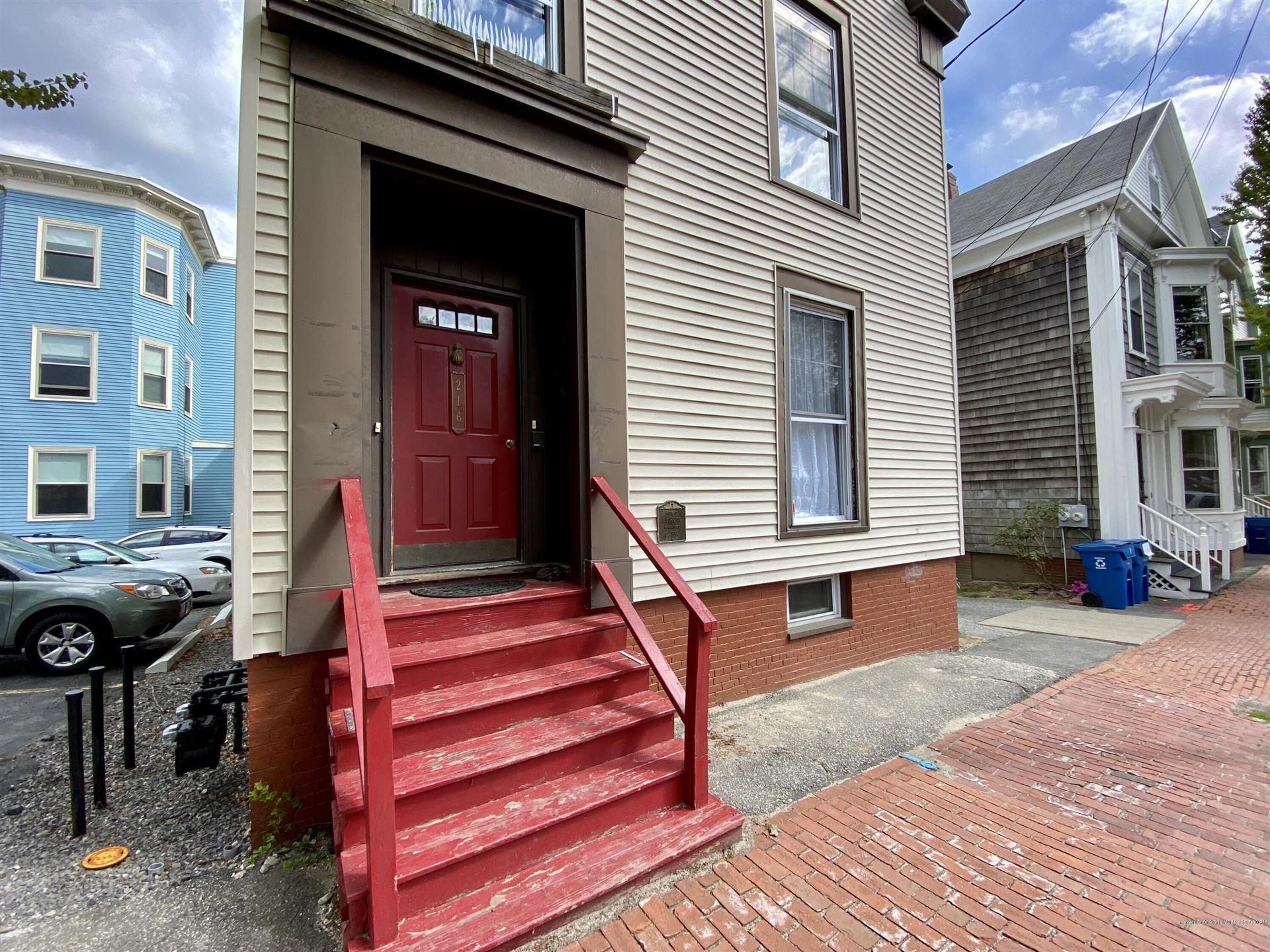 Photo of 216 Spring Street, Portland, ME 04102 (MLS # 1491518)