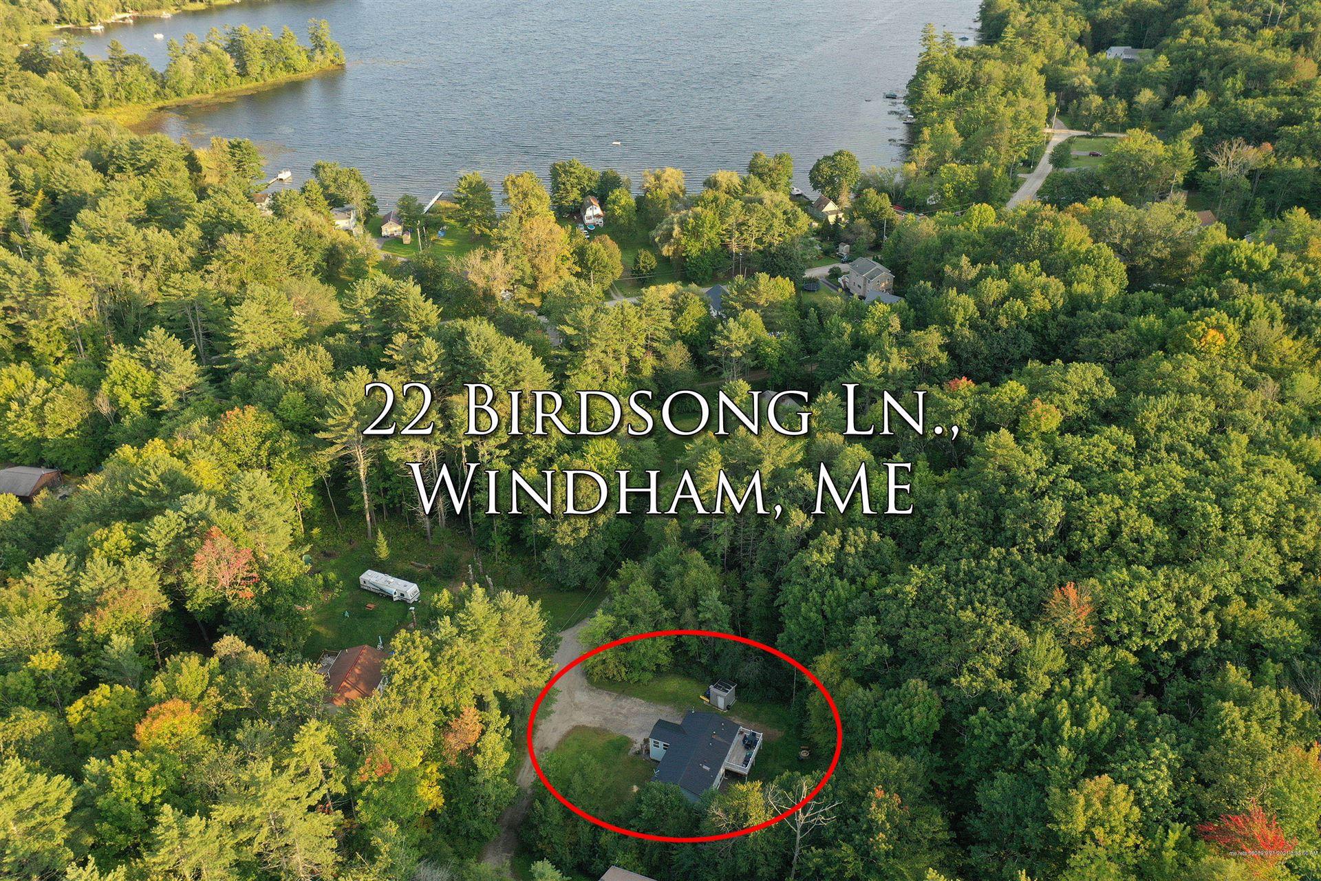 Photo of 22 Birdsong Lane, Windham, ME 04062 (MLS # 1509546)