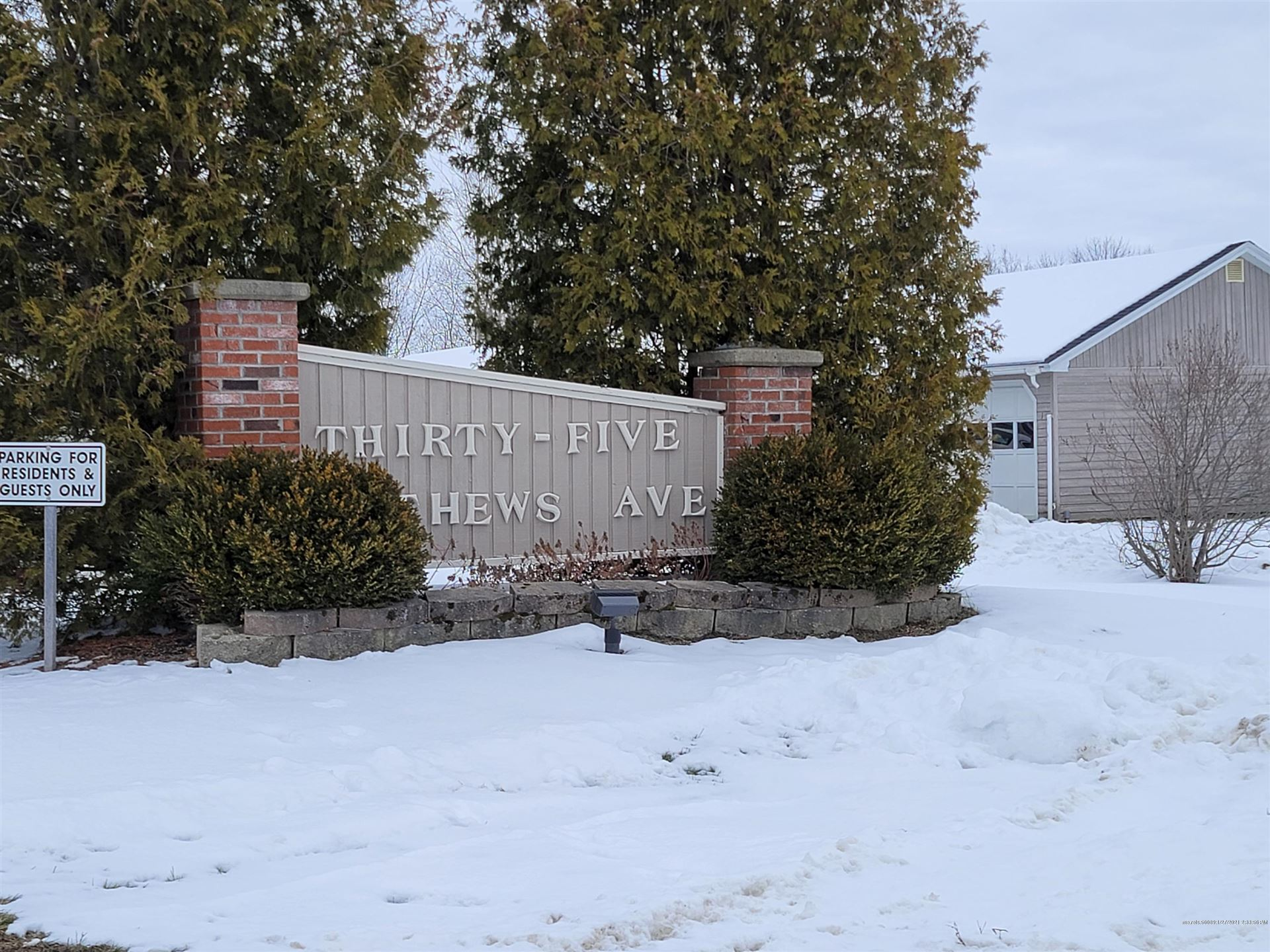 Photo of 35 Mathews Avenue #32, Waterville, ME 04901 (MLS # 1480565)
