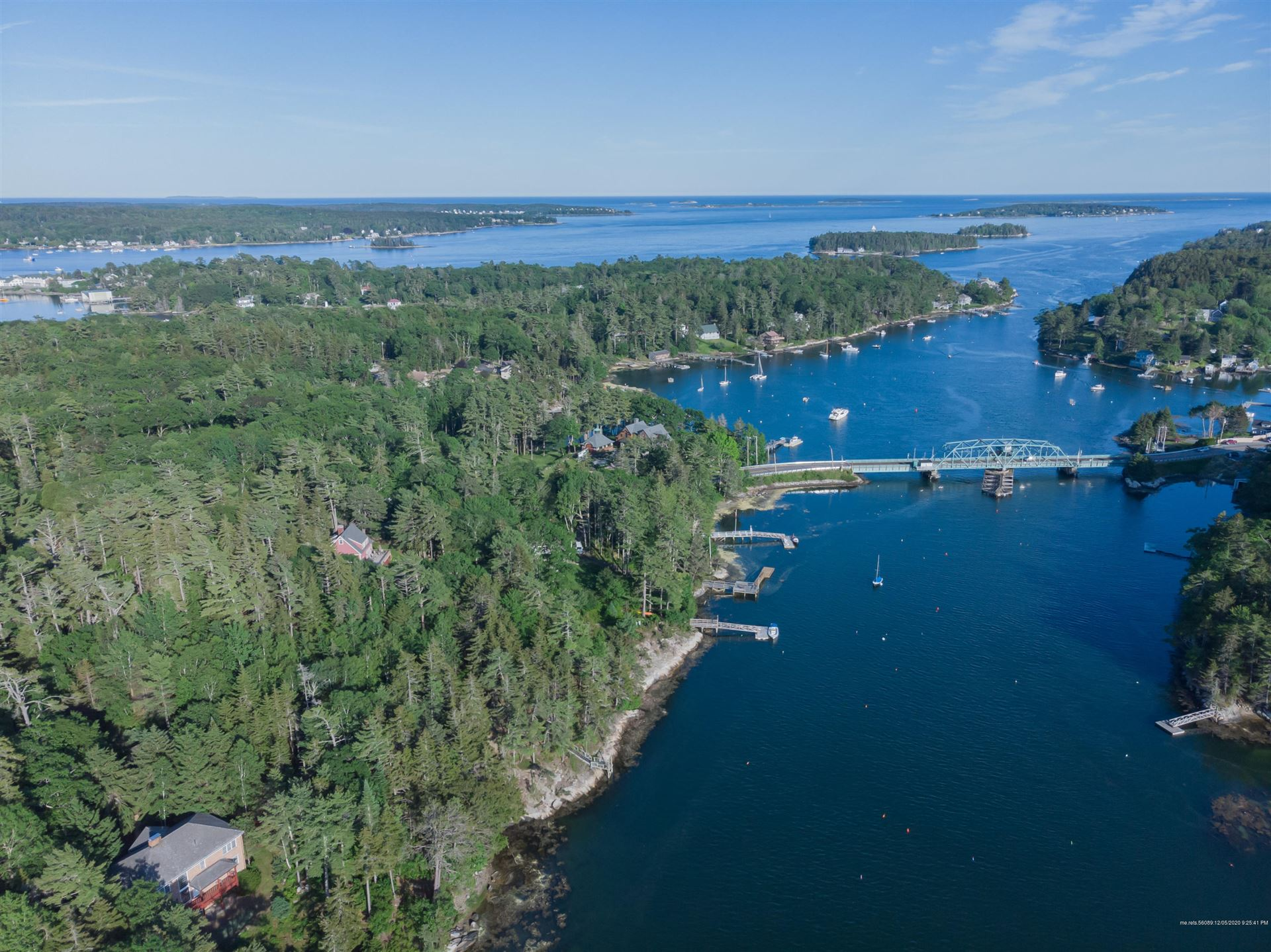 Photo of 12 Bear End Road, Boothbay Harbor, ME 04538 (MLS # 1477579)