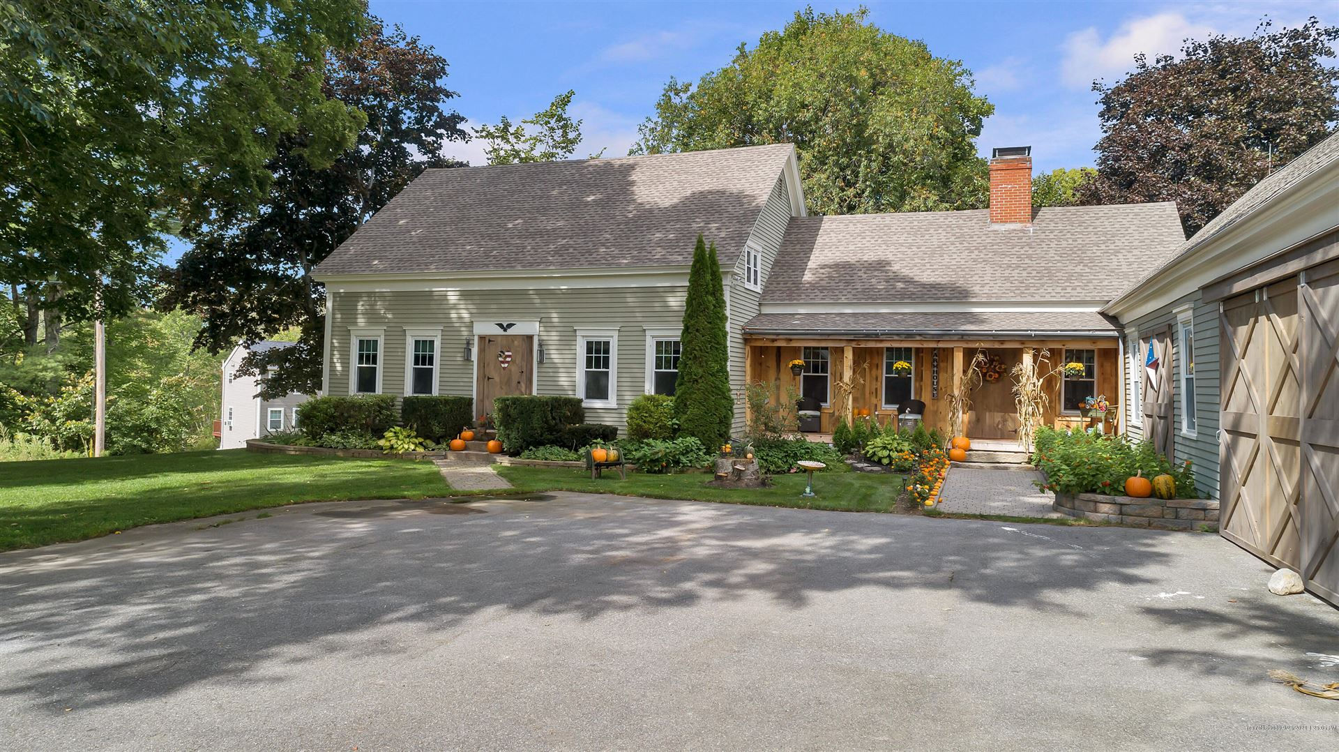 Photo of 697 Fort Hill Road, Gorham, ME 04038 (MLS # 1509583)
