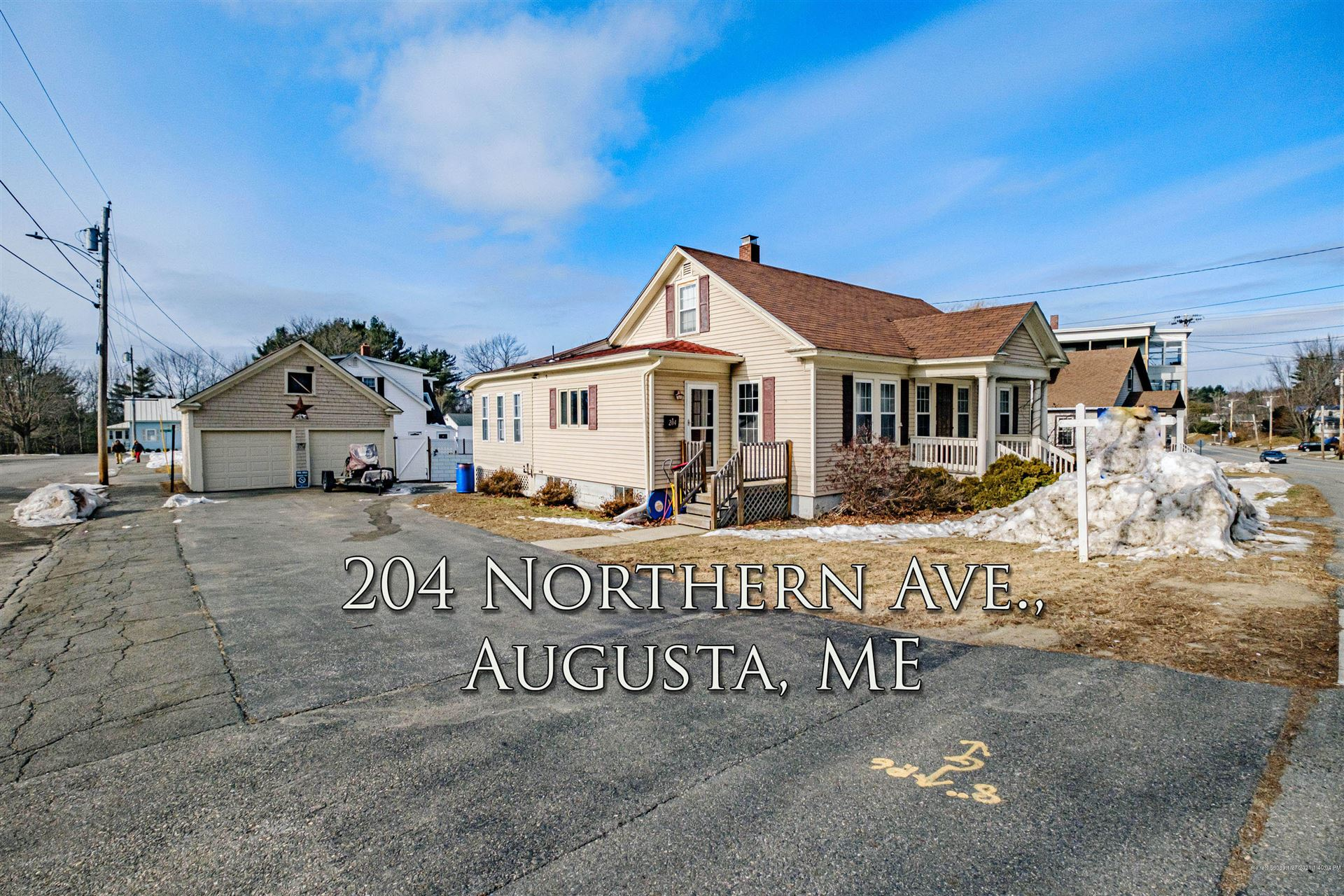 Photo of 204 Northern Avenue, Augusta, ME 04330 (MLS # 1480584)