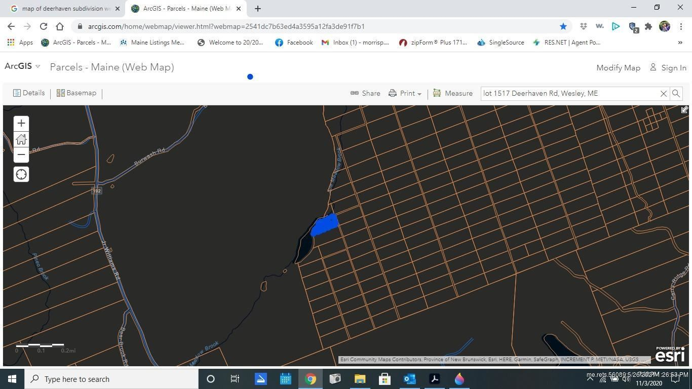Photo of 00 Map A Lot 1517 Deer Haven Road, Machias, ME 04686 (MLS # 1480592)