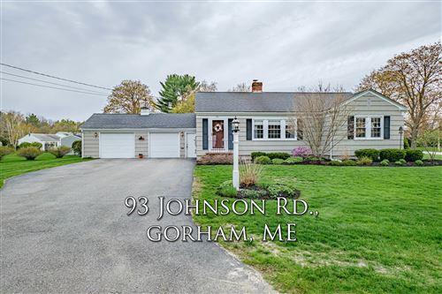 Photo of 93 Johnson Road, Gorham, ME 04038 (MLS # 1490612)
