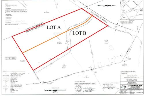Photo of Lot A M5L7 Collinsbrook Road, Brunswick, ME 04011 (MLS # 1454647)