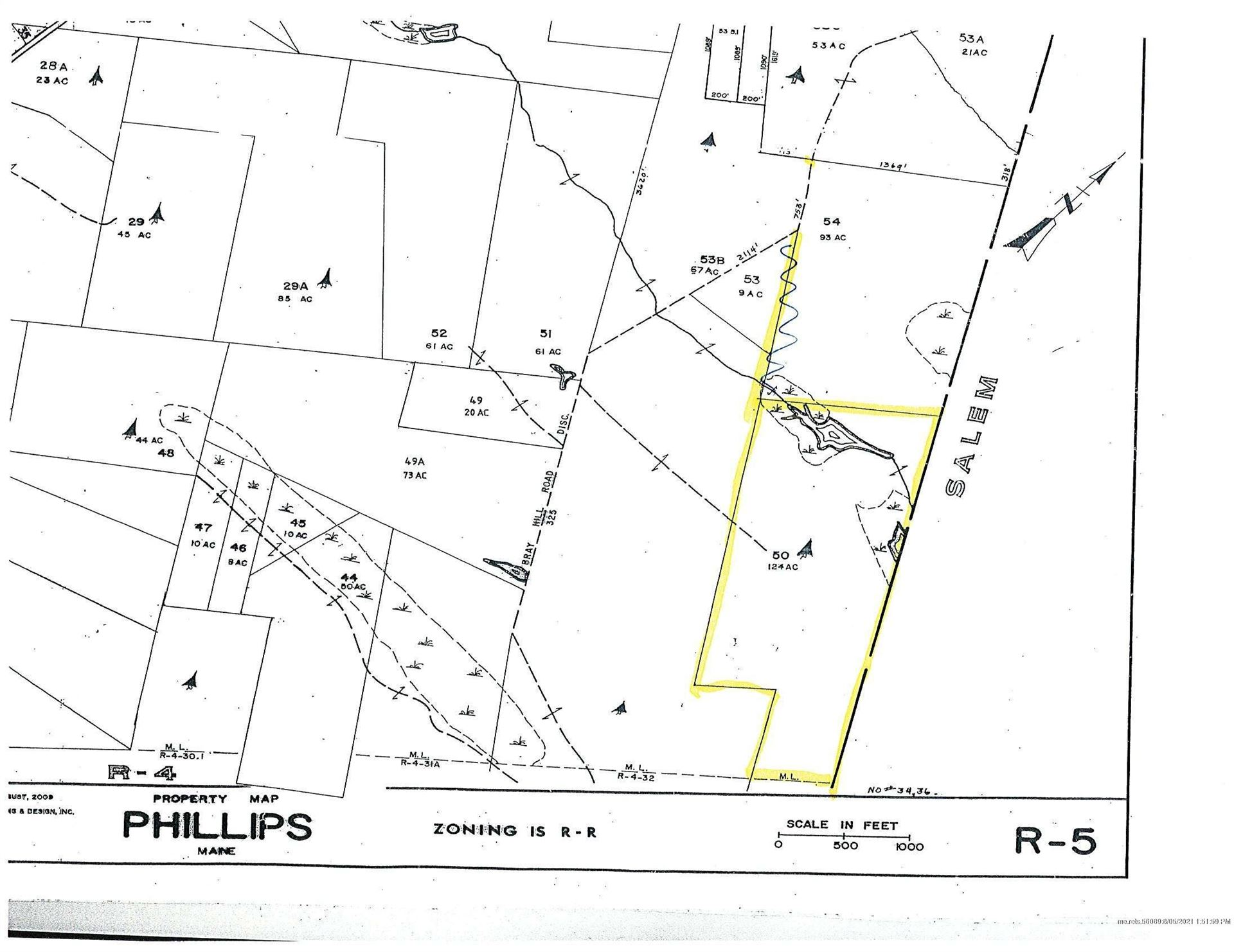 Photo of TBD Old Bray Hill Road, Phillips, ME 04966 (MLS # 1503678)