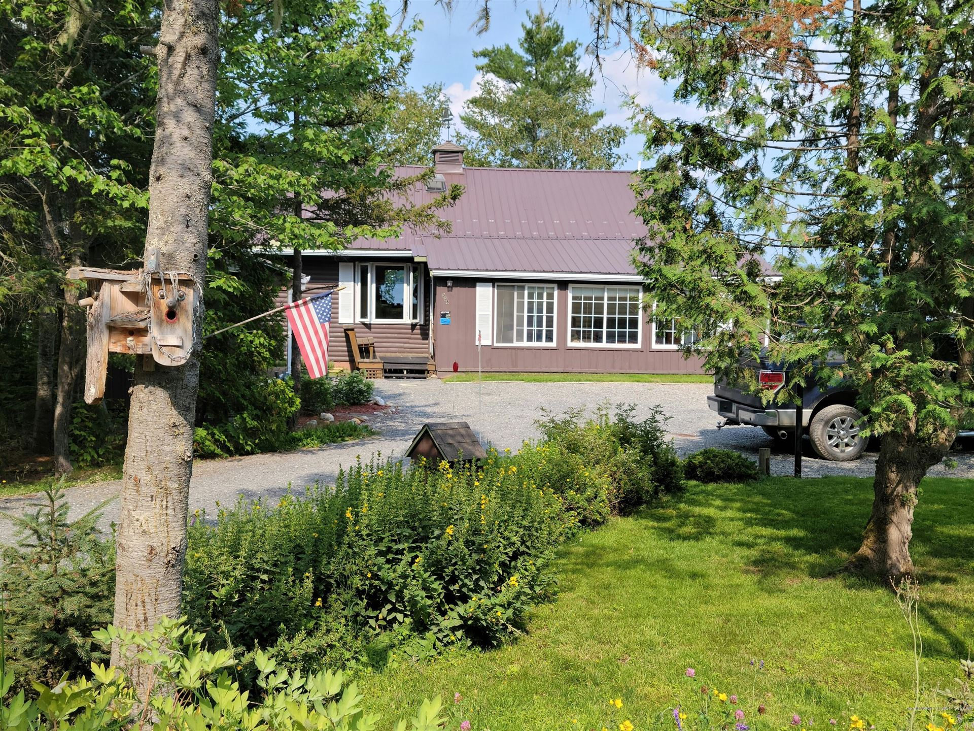 Photo of 338 West Side Road, Cross Lake Township, ME 04779 (MLS # 1502761)