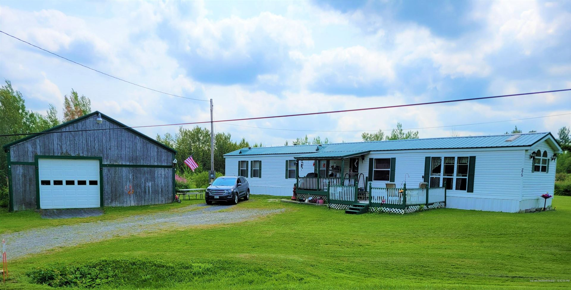Photo of 275 Green Ridge Road, Fort Fairfield, ME 04742 (MLS # 1503765)