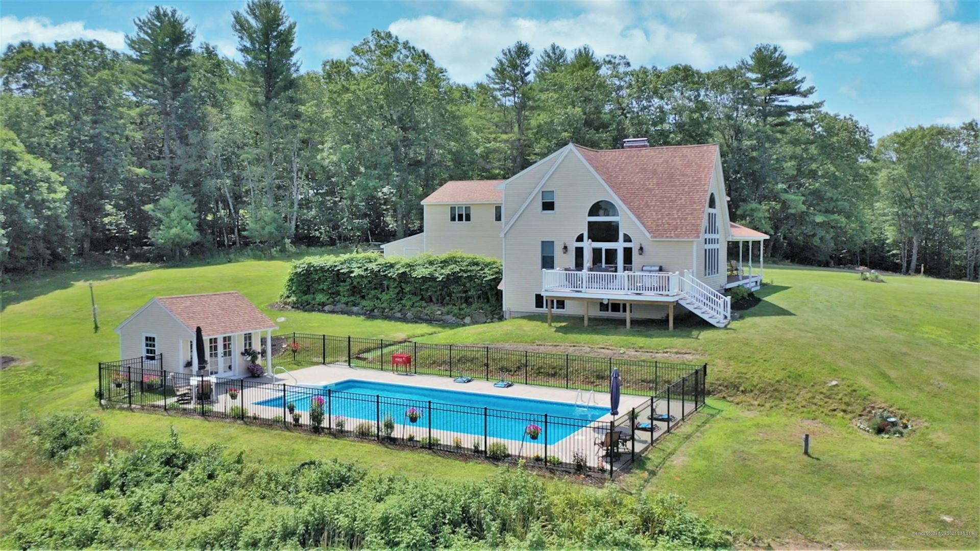 Photo of 86 Orchard Road, Parsonsfield, ME 04047 (MLS # 1503824)