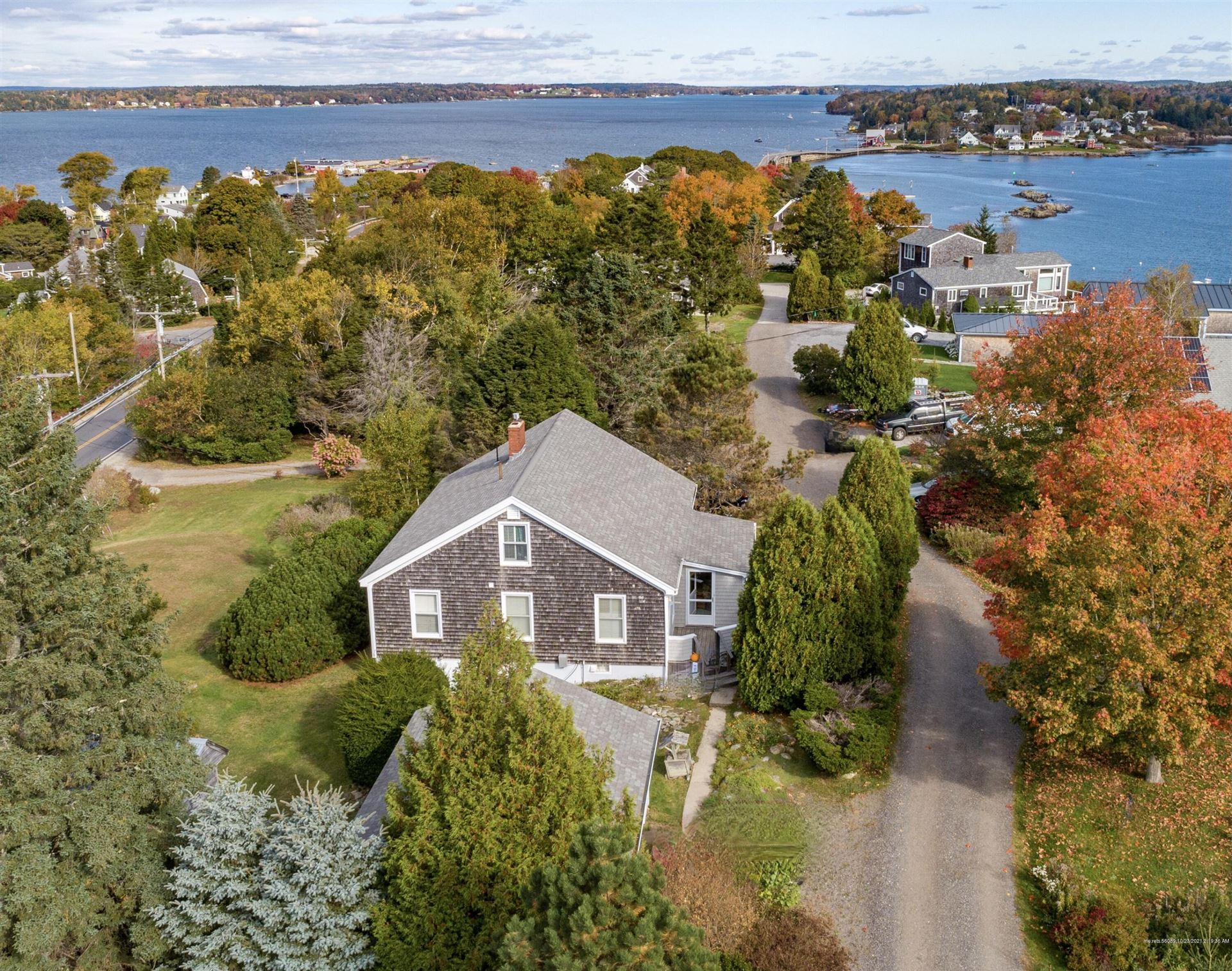 Photo of 23 Water Cove Road, Harpswell, ME 04079 (MLS # 1512847)