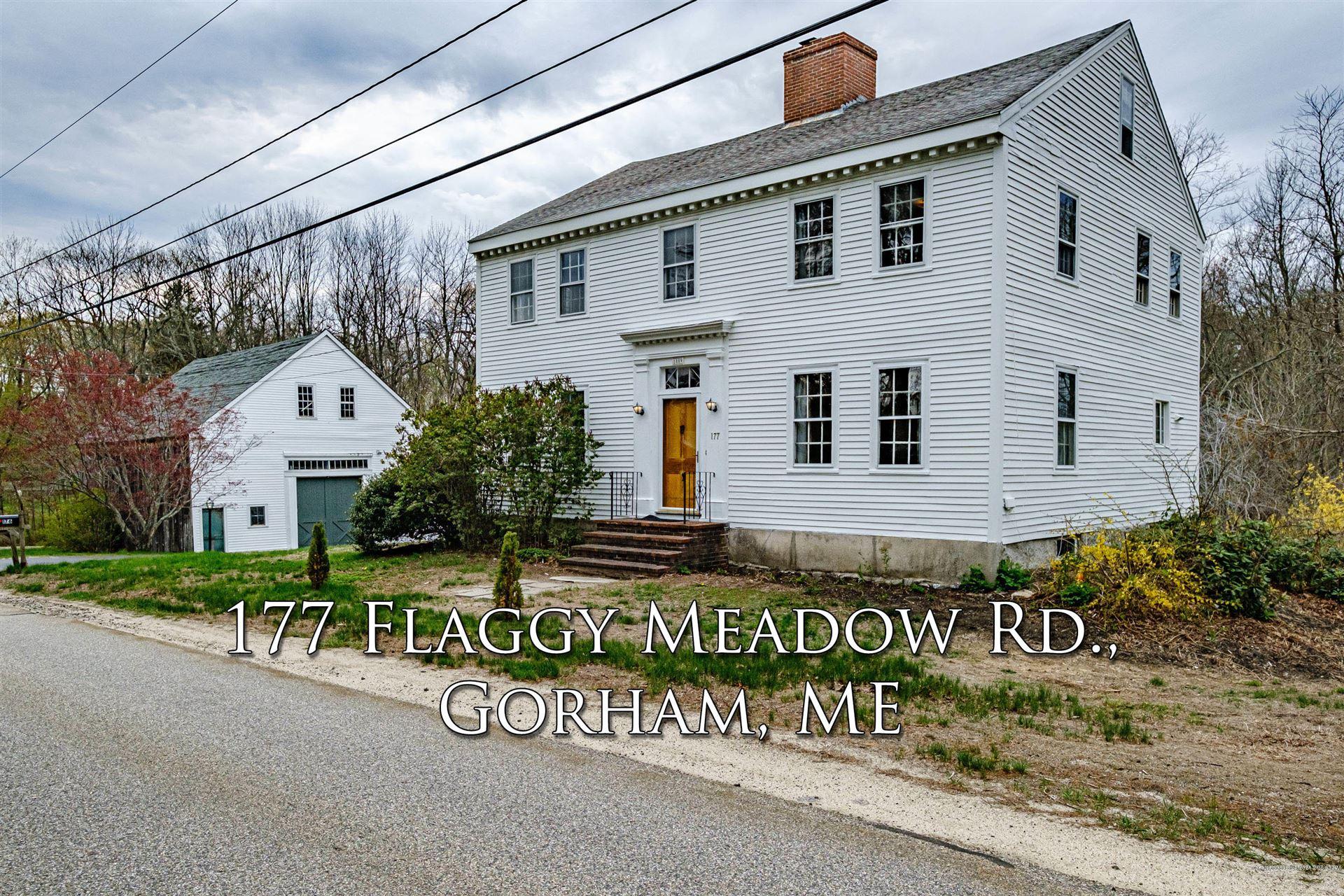 Photo of 177 Flaggy Meadow Road, Gorham, ME 04038 (MLS # 1482934)
