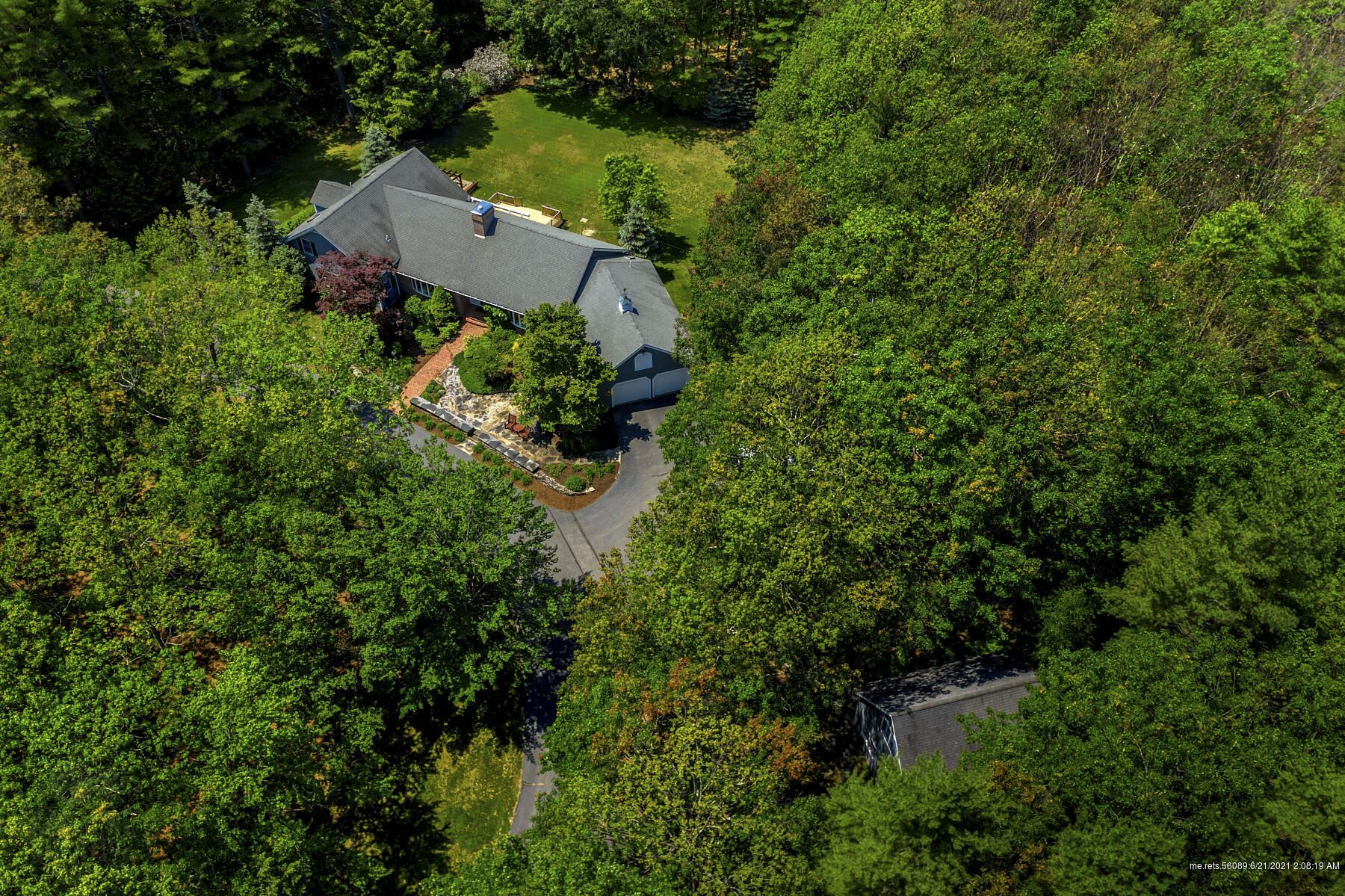 Photo of 72 Steeple Chase Road, North Yarmouth, ME 04097 (MLS # 1495934)