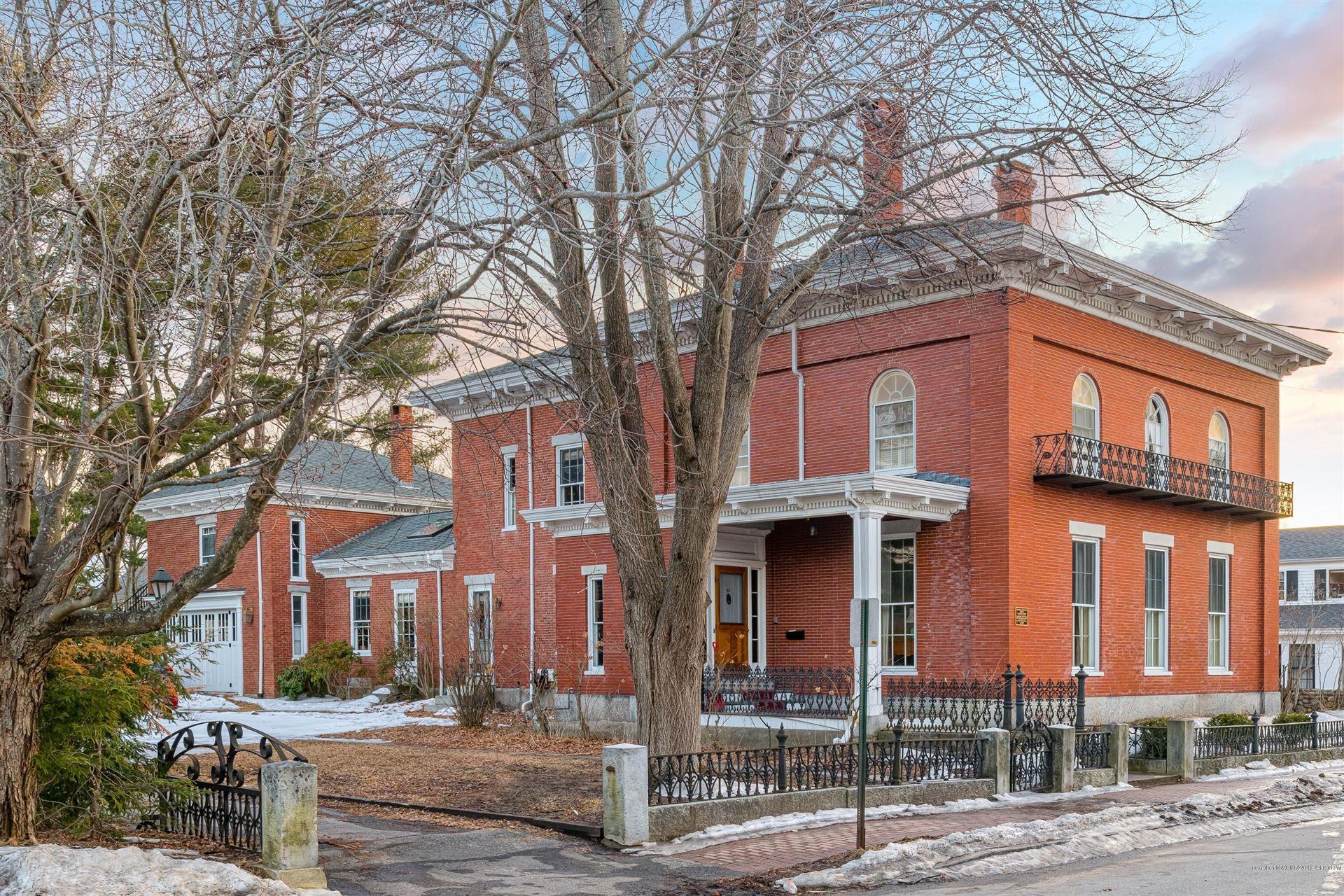 Photo of 11 Lincoln Street, Brunswick, ME 04011 (MLS # 1495957)