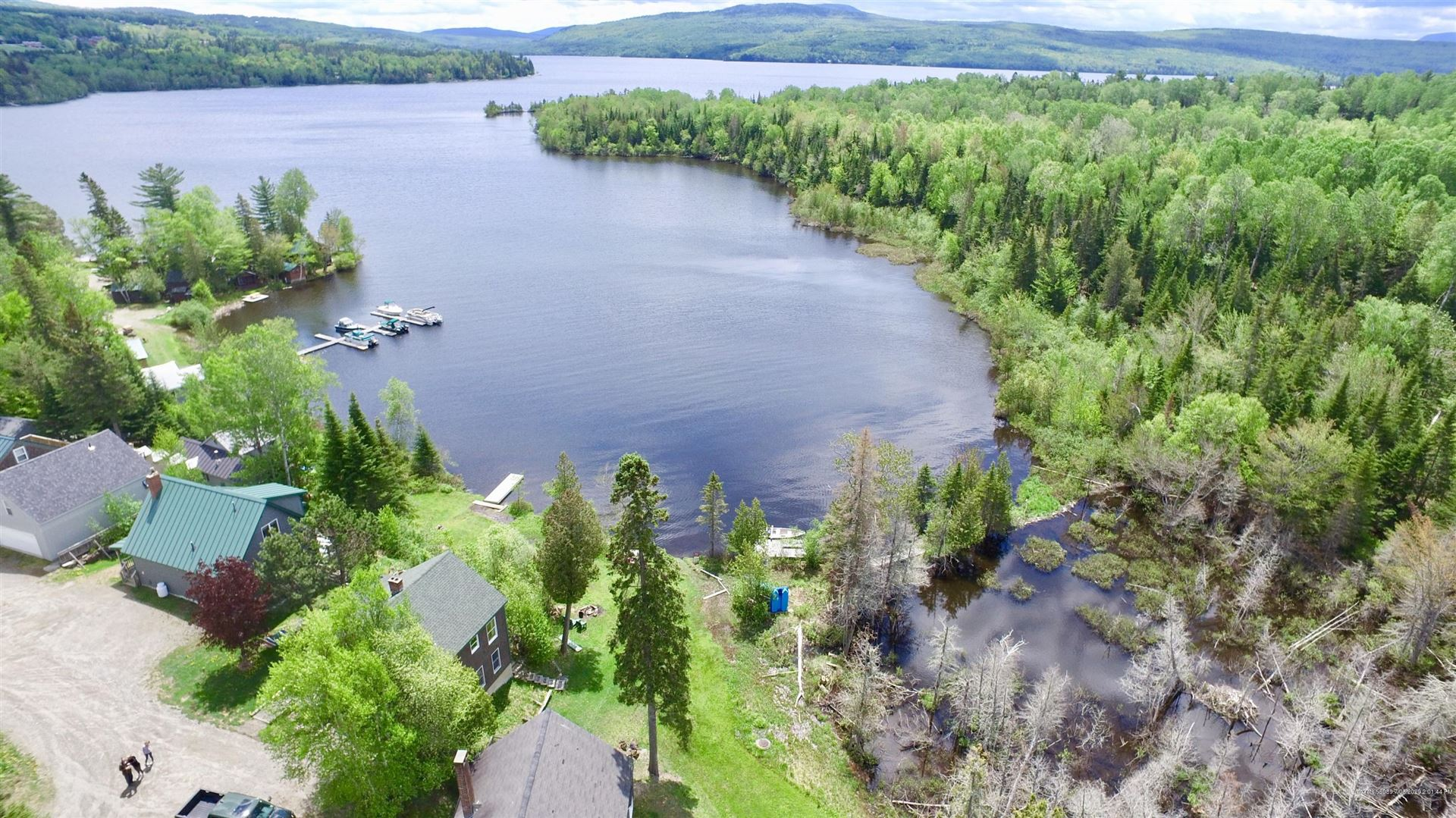 Photo of 13 Russell Cove Circle, Rangeley, ME 04970 (MLS # 1453981)