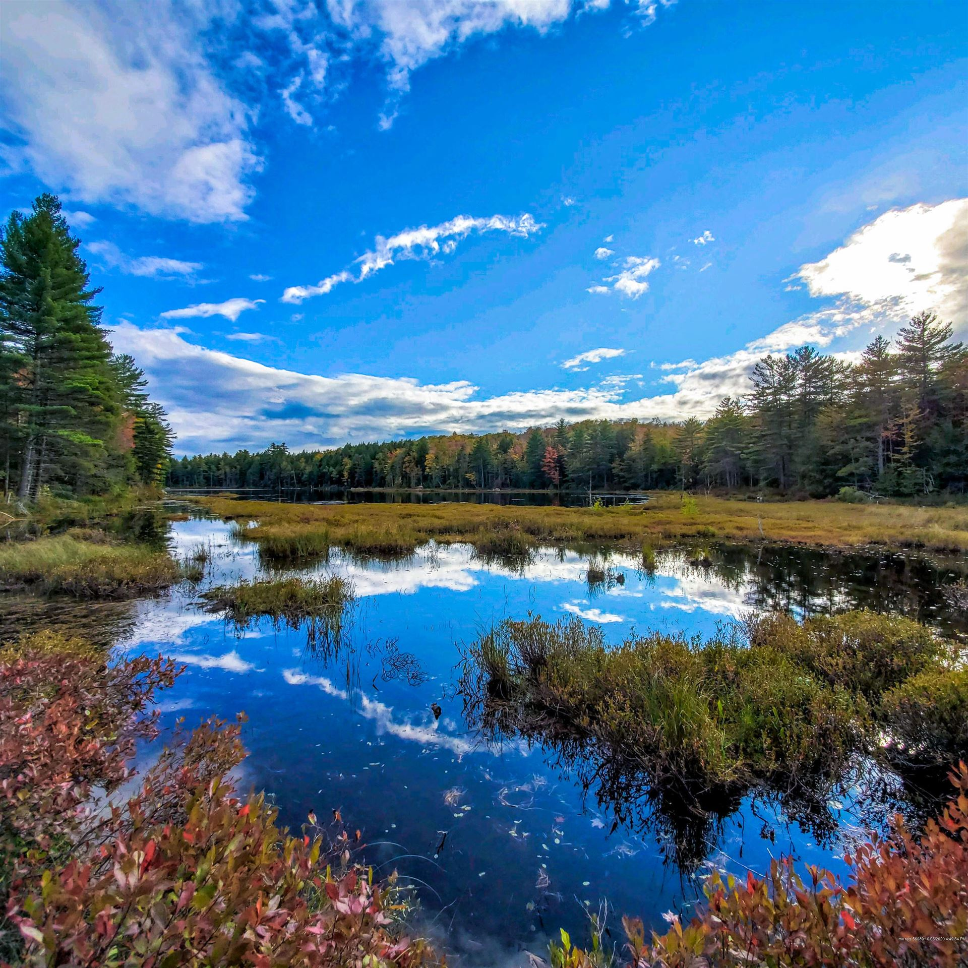 Photo of 406 Ladd Road, Mercer, ME 04957 (MLS # 1459990)