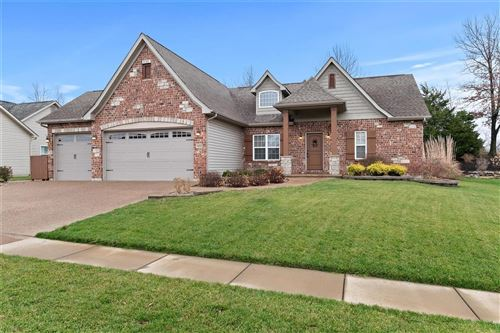 Photo of 412 Cottage Grove Drive, Wentzville, MO 63385 (MLS # 20082022)