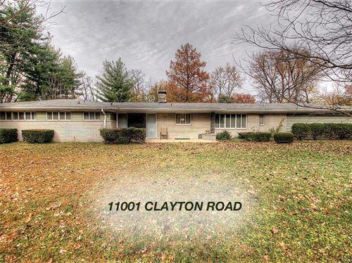 Photo of 11001 Clayton Road, Frontenac, MO 63131 (MLS # 21000042)