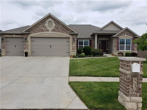 Photo of 539 Forest Park Drive, Wentzville, MO 63385 (MLS # 21032060)