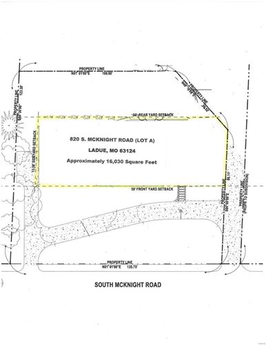 Photo of 820 South McKnight (Lot A / West Lot) Road #B, Ladue, MO 63124 (MLS # 21029082)