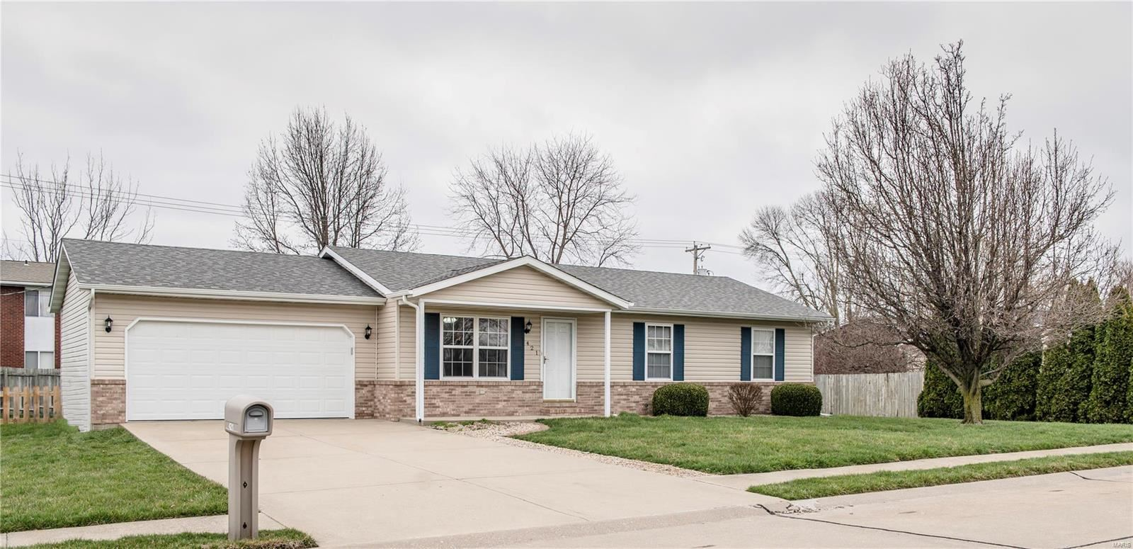 421 Orchard Court, Troy, IL 62294 - MLS#: 20017170