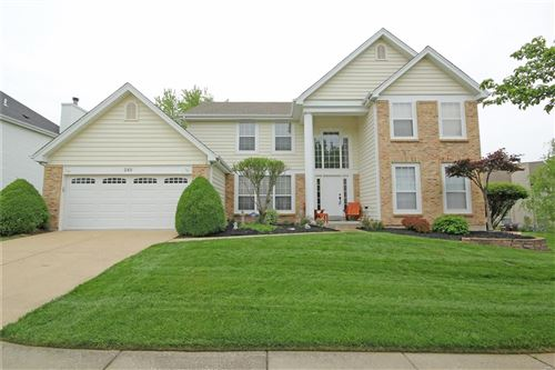 Photo of 249 Dejournet Drive, Chesterfield, MO 63005 (MLS # 21030174)
