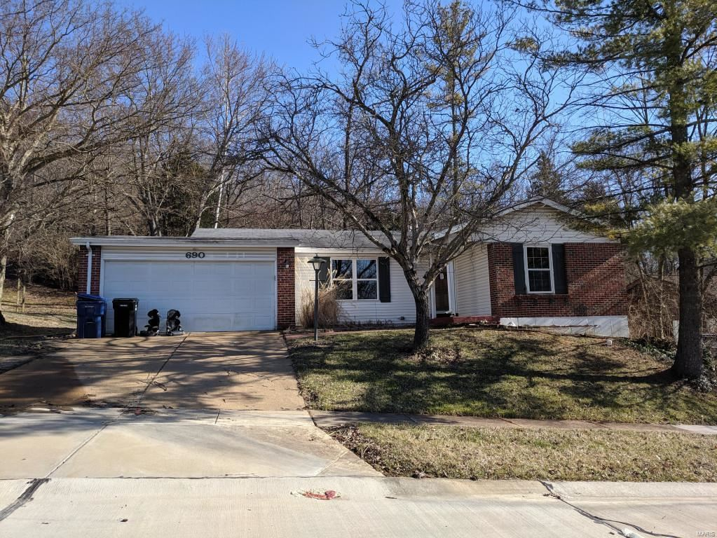 690 Green Forest Drive, Fenton, MO 63026 - MLS#: 20017175