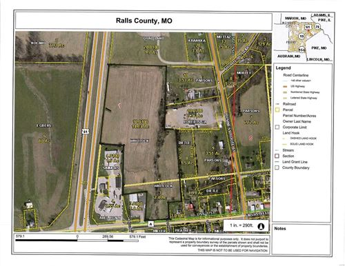 Photo of 0 Highway 61 and A, New London, MO 63459 (MLS # 21020182)