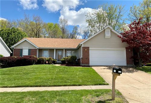 Photo of 4218 Cherry Wood Trail Drive, Florissant, MO 63034 (MLS # 21024258)