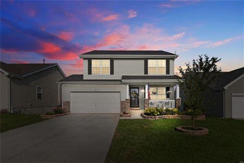 Photo of 113 Peruque Estates Lane, Wentzville, MO 63385 (MLS # 21051292)