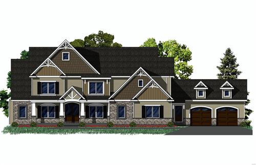 Photo of 13229 Stone Ct TBB (Lot 2), Town and Country, MO 63131 (MLS # 20056385)