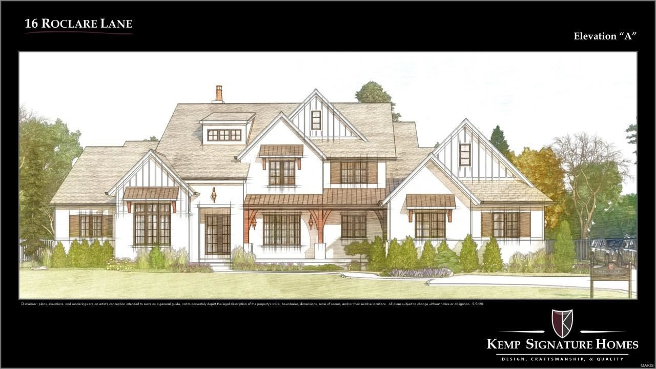 16 Roclare Lane, Town and Country, MO 63131 - MLS#: 20015398