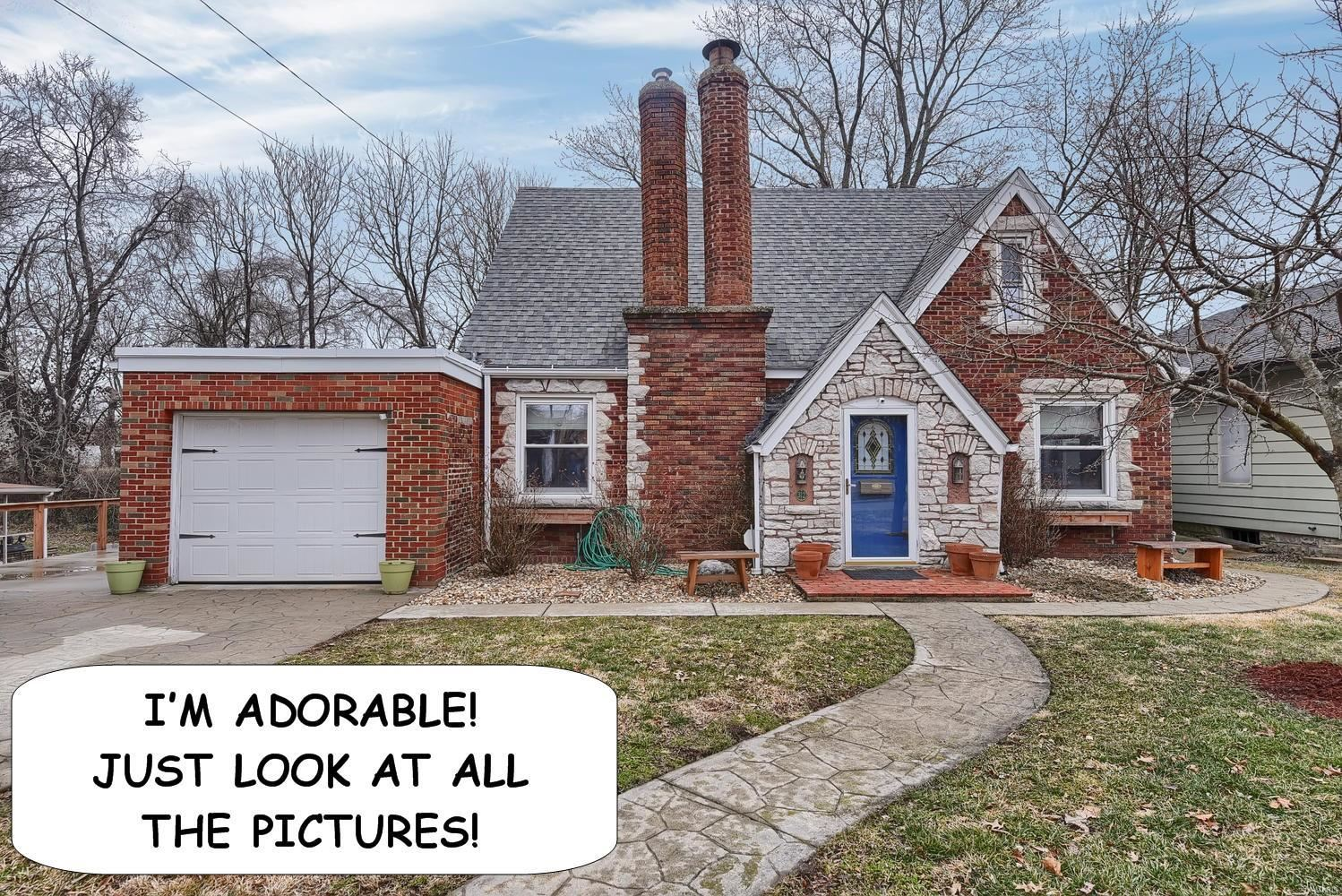 312 South Combs Avenue, Collinsville, IL 62234 - #: 20005410