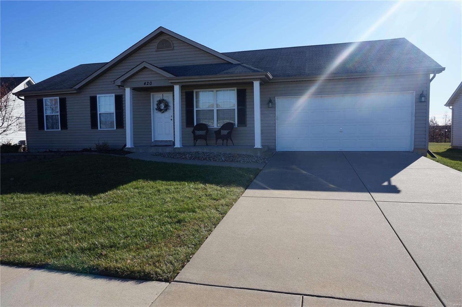 420 Pearl Creek, Wentzville, MO 63385 - MLS#: 19087514