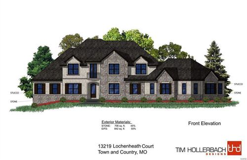 Photo of 13219 Lochenheath (Lot 3) TBB Court, Town and Country, MO 63131 (MLS # 20014516)