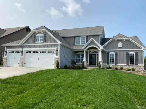 Photo of 105 Eagle Estates Drive Drive, Lake Saint Louis, MO 63367 (MLS # 21043596)