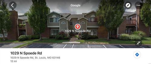 Photo of 1029 N Spoede, St Louis, MO 63146 (MLS # 21063609)
