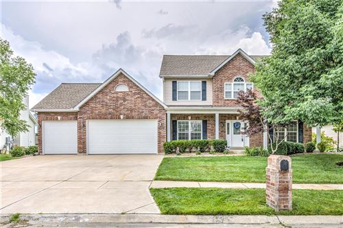 Photo of 3110 Bear View Court, Wentzville, MO 63385 (MLS # 20045614)