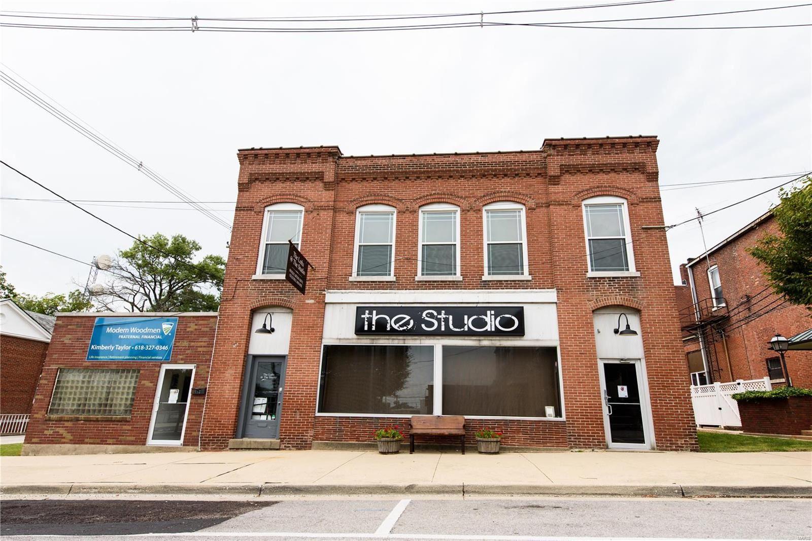 Photo for 153 S. Kaskaskia, Nashville, IL 62263 (MLS # 20047620)