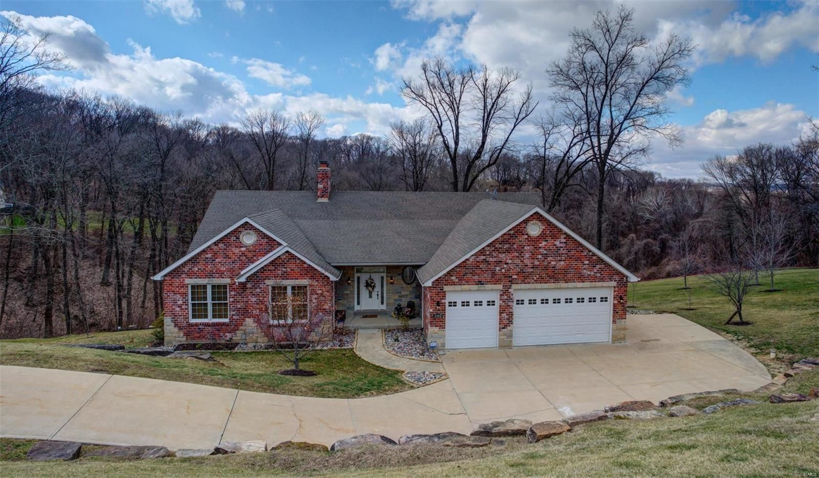 295 Larimore Valley Drive, Chesterfield, MO 63005 - MLS#: 20007641