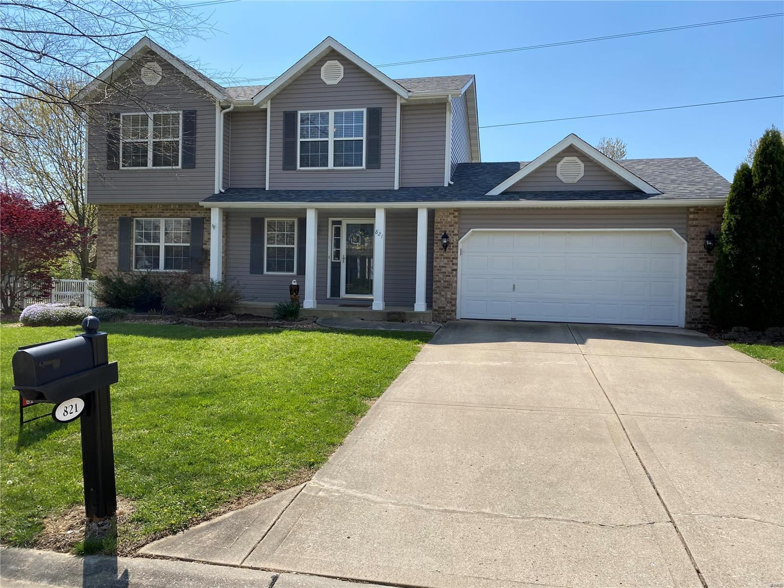 821 Cedar Valley Dr, Maryville, IL 62062 - MLS#: 20007670
