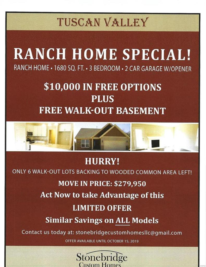 3172 TBB Tuscan Valley Estates Court, Arnold, MO 63010 - MLS#: 17002679